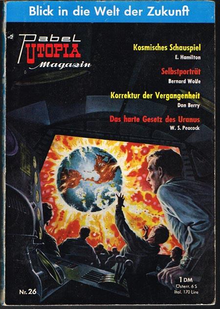 UTOPIA-Sonderband bzw. ab Heft 3 UTOPIA-Magazin 1-26 in 26 Heften (alles erschienene).