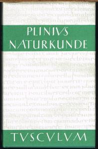 C. Plinius Secundus d. Ä. Naturalis Historiae. Naturkunde. Lateinisch-deutsch. Buch IX. Zoologie: Wassertiere. Herausgegeben und übersetzt von Roderich König in Zusammenarbeit mit Gerhard Winkler.