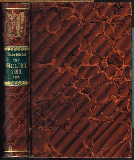 Hermann Masius (Hrsg.): Jahrbücher für Philologie und Paedagogik. Zweite Abteilung. Sechsunddreiszigster Jahrgang 1890.
