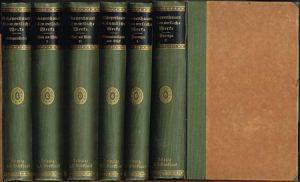 Arthur Schopenhauer's sämmtliche Werke. Herausgegeben von Julius Frauenstädt. Zweite Auflage. Neue Ausgabe. 6 Bände.