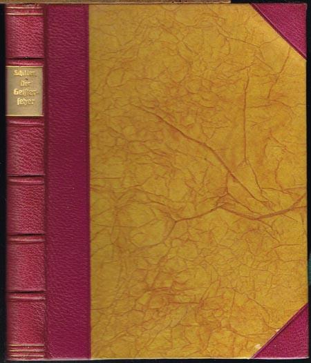 Friedrich Schiller: Der Geisterseher. Aus den Papieren des Grafen von O**.