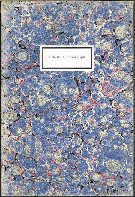 Hölderlin: Der Archipelagus. Mit einer Original-Radierung von Paul Eliasberg.