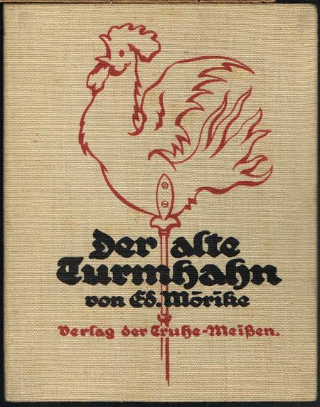 Ed. Mörike: Der alte Turmhahn.