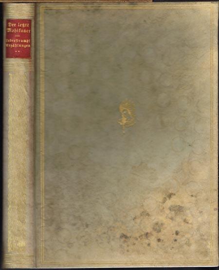 James Fenimore Cooper: Lederstrumpf Erzählungen in der ursprünglichen Form. Band 2 (von 5). Buchschmuck und Bilder von Max Slevogt. Übersetzt und bearbeitet von K. Federn.