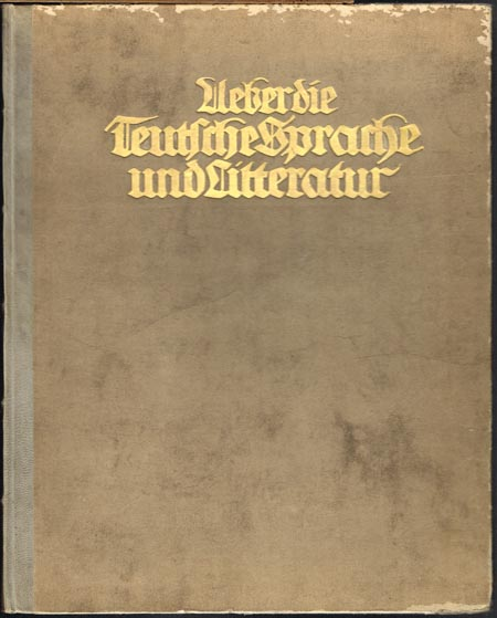 [Johann Friedrich Wilhelm Jerusalem]: Ueber die Teutsche Sprache und Litteratur. An Ihro Koenigliche Hoheit die verwittwete Frau Herzogin von Braunschweig und Lüneburg. Berlin/1781.