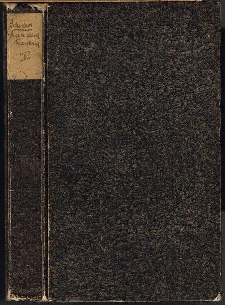G[otthilf] H[einrich] von Schubert: Reise durch das südliche Frankreich und durch Italien. Erster Band (von 2).