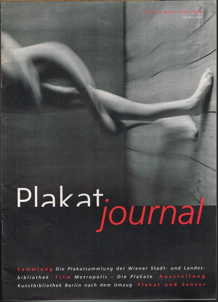 Plakatjournal. Heft 2, April-Juni 1994.