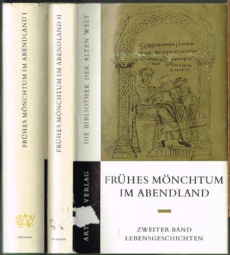 Carl Andresen (Hrsg.): Frühes Mönchtum im Abendland. Zwei Bände. Erster Band. Lebensformen. Zweiter Band. Lebensgeschichten. Eingeleitet, übersetzt und erklärt von Karl Suso Frank.