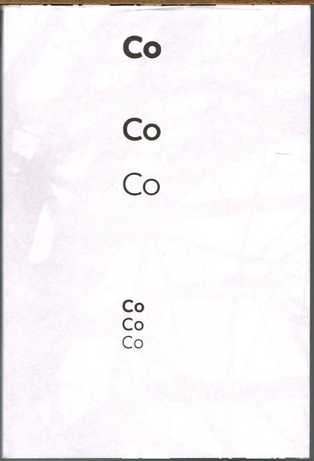Co Headline Bold - Co Headline - Co Headline Light. A collaboration by Dalton Maag and North.