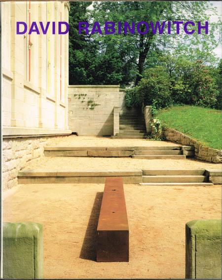 David Rabinowitch. Werke 1967 - 1976. Herausgegeben von Jochen Poetter. Ausstellung Staatliche Kunsthalle Baden-Baden 1992.