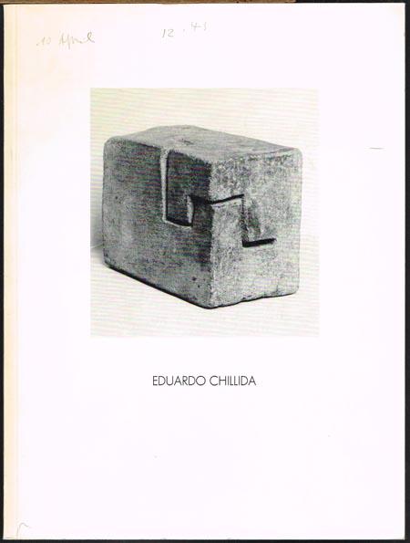 Eduardo Chillida. Erdskulpturen, Collagen, Zeichnungen, Druckgraphik.
