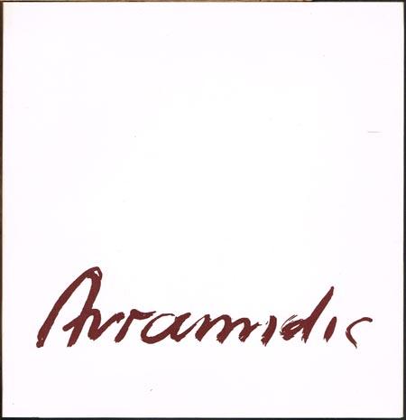 Joannis Avramidis. Zeichnungen. [Ausstellung] Staatsgalerie Stuttgart 1986.