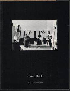 Klaus Hack. 2 + 3 = Drucktrommel.