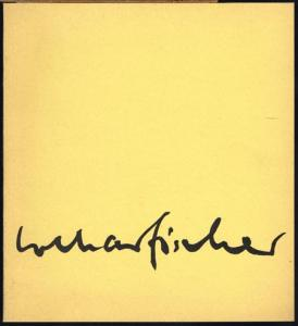 Lothar Fischer. Plastiken und Zeichnungen. [Ausstellung] Kunstverein Braunschweig 1967.