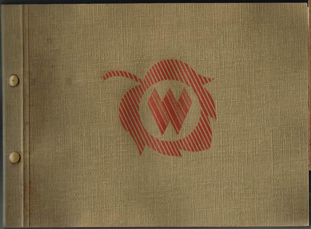Waltenberg & Co. Seidenstoffweberei. Blusen- und Wäschefabrik. Modische Seidenstoffe Frühjahr 1952.