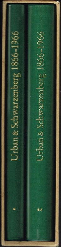 Hundert Jahre Urban & Schwarzenberg 1866-1966. Ein Beitrag zur Geschichte und Soziologie des medizinisch-naturwissenschaftlichen Verlagswesens. 2 Bände.