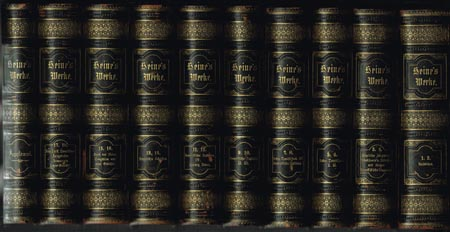 Heinrich Heine's sämmtliche Werke. 18 Bände + Supplementband in 10 Büchern.