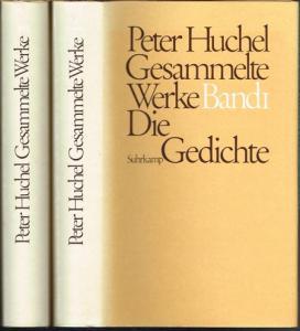 Peter Huchel. Gesammelte Werke in zwei Bänden. Herausgegeben von Axel Vieregg.