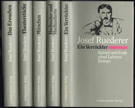 Josef Ruederer. Werkausgabe in fünf Bänden. Mit einem Vorwort und einem Nachwort zu jedem Band herausgegeben von Hans-Reinhard Müller.