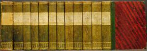 Friedrich von Schiller. Sämmtliche Werke in zwölf Bänden. Mit ingesamt 165 Stahlstichen.