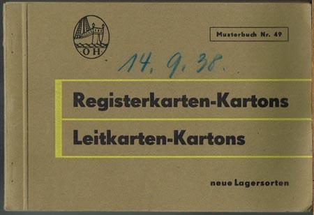 Registerkarten-Kartons. Leitkarten-Kartons. Neue Lagersorten.