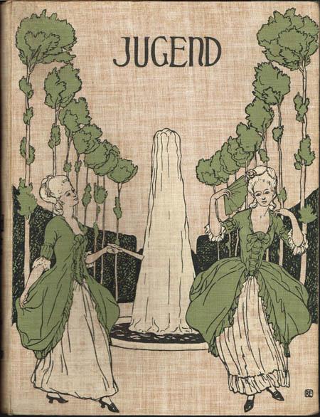 Jugend. Münchner illustrierte Wochenschrift für Kunst und Leben. 1903, Band II, Nr. 27-52.