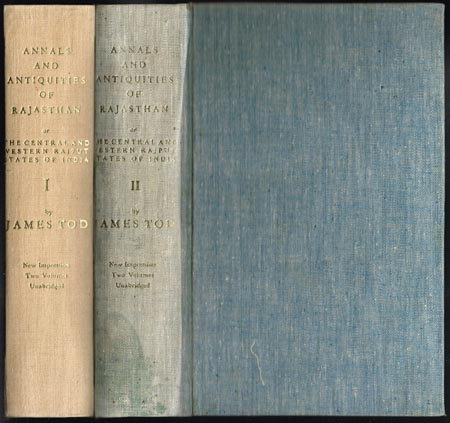 James Tod: Annals and Antiquities of Rajast'han or, the Central and Western Rajpoot States of India. In two Volumes with a Preface by Douglas Sladen. 2 Bände.