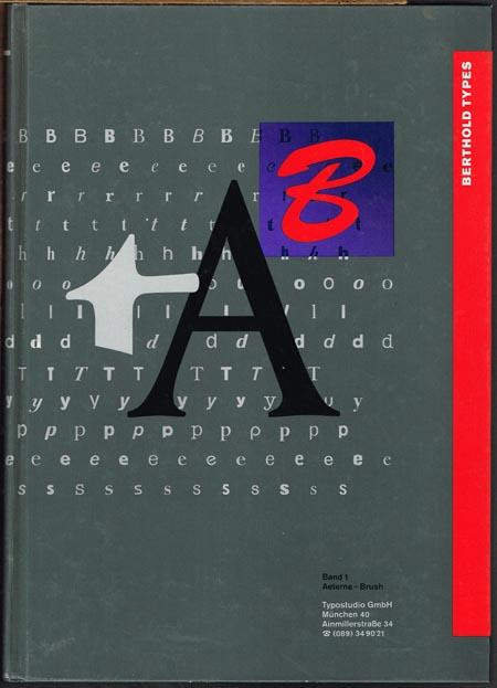 Berthold-Types. 4 Bände.