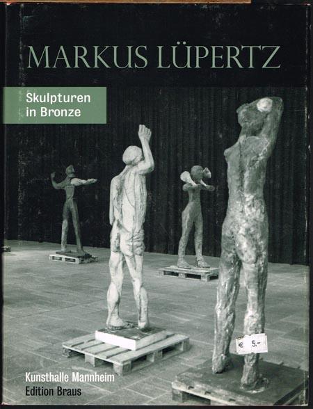 Markus Lüpertz. Skulpturen in Bronze. Ausstellung Mannheim, Augsburg, Bremen 1995. Mit Beiträgen von Martina Rudloff, Inge Herold, Wolfgang Kersten, Thomas Elsen und Jochen Kronjäger.