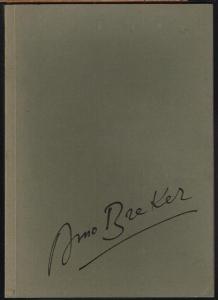 Arno Breker. Skulpturen, Aquarelle, Zeichnungen, Lithographien, Radierungen. Herausgegeben von J. F. Bodenstein. Mit Texten von Paul Morand und Castor Seibel.