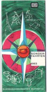 Sonderfahrten der DB 1963 - Wuppertal