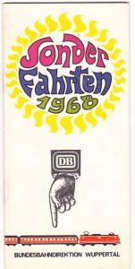 Sonderfahrten der DB 1968 - Wuppertal
