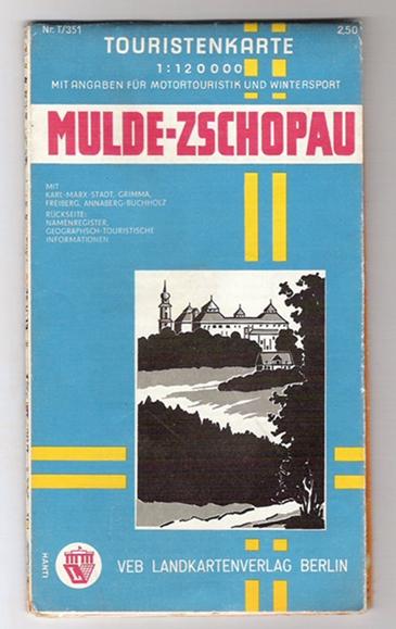 Touristenkarte Mulde-Zschopau