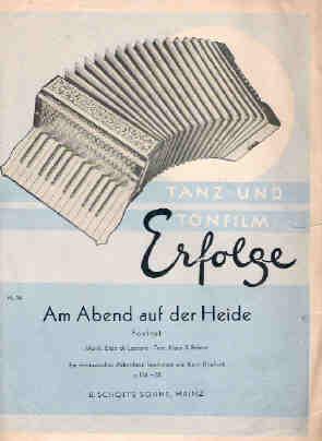 Am Abend auf der Heide - Tanz-u. Tonfilm-Erfolge, Nr. 26