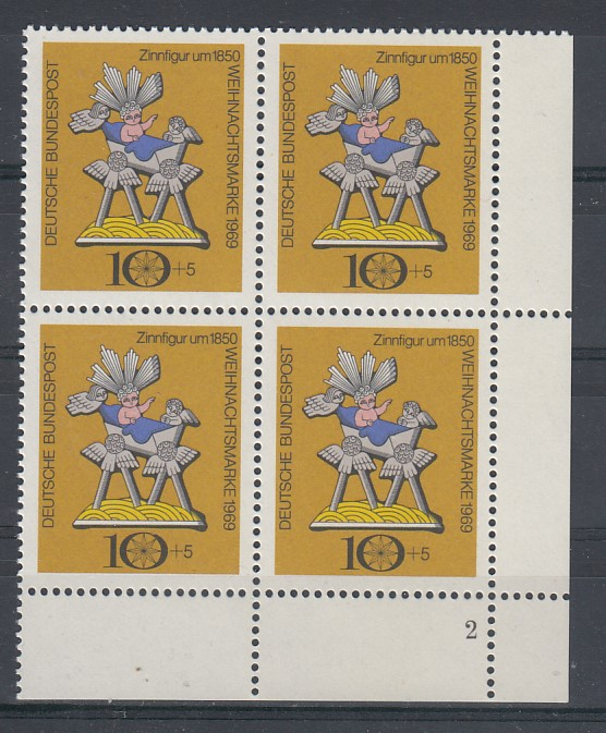 Bund Mi.-Nr.: 610 Vb Formnummer postfrisch