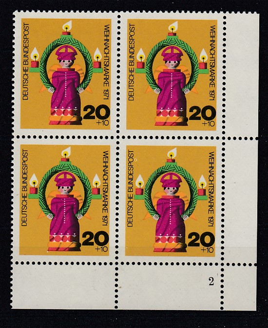 Bund Mi.-Nr.: 709  Vb Formnummer postfrisch
