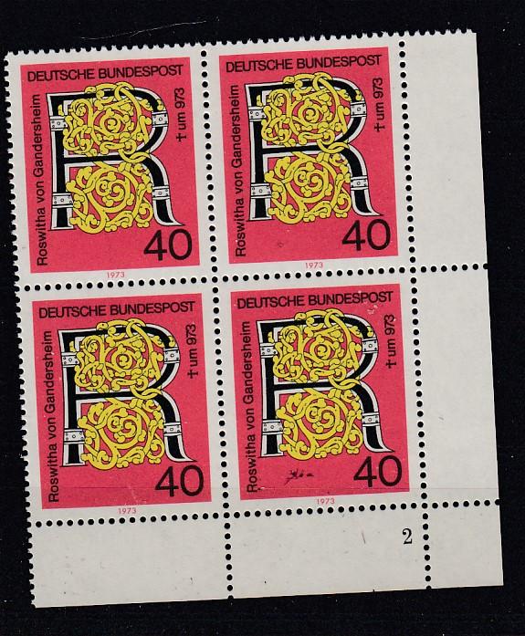 Bund Mi.-Nr.: 770  Vb Formnummer postfrisch
