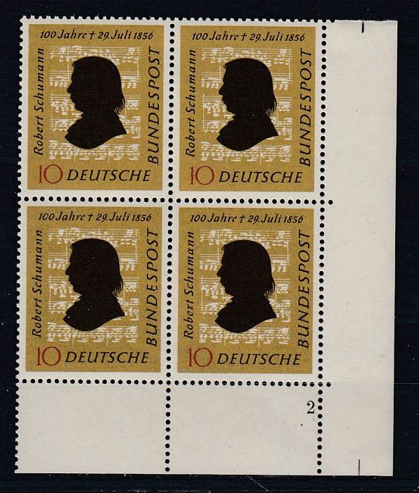 Bund Mi.-Nr.: 234 Vb Formnummer postfrisch