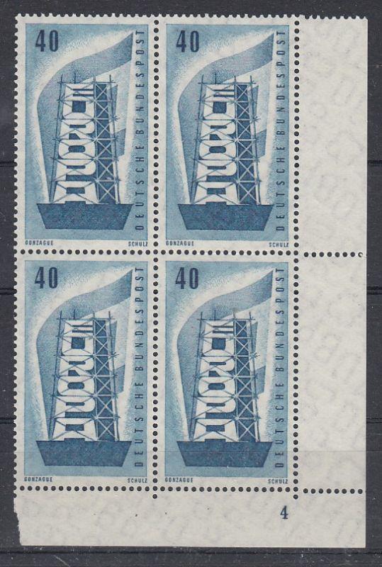Bund Mi.-Nr.: 242 Vb Formnummer postfrisch