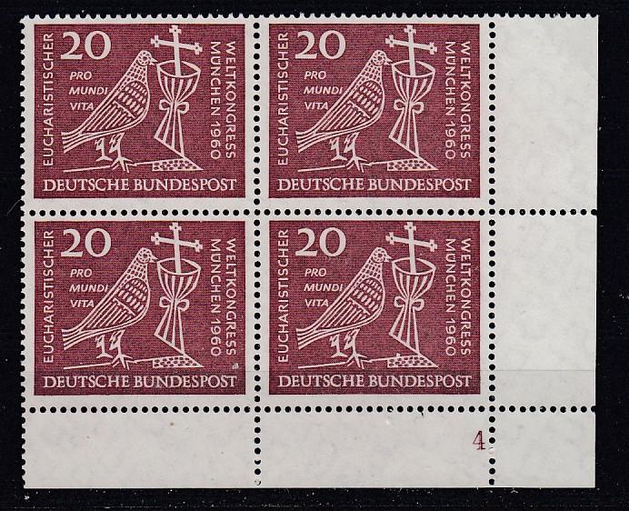 Bund Mi.-Nr.: 331 Vb Formnummer postfrisch