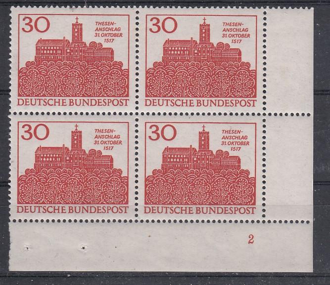 Bund Mi.-Nr.: 544  Vb Formnummer postfrisch