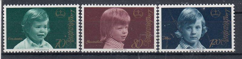 Liechtenstein Mi.-Nr.: 620/22  postfrisch