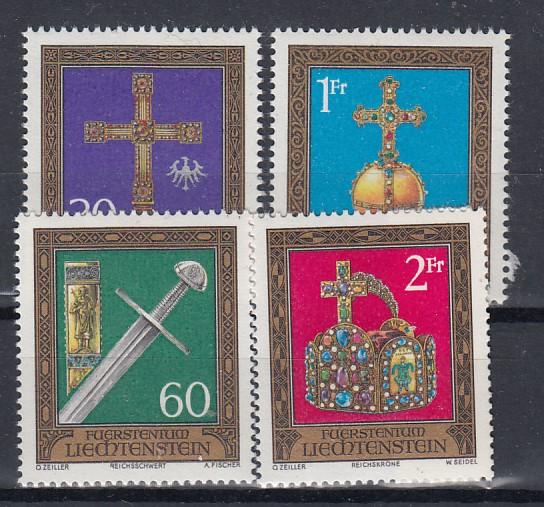 Liechtenstein Mi.-Nr.:  625/28  postfrisch