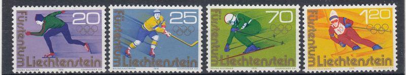 Liechtenstein Mi.-Nr.:  635/38  postfrisch
