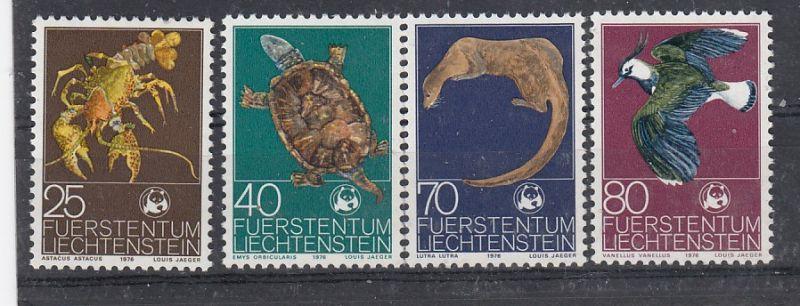 Liechtenstein Mi.-Nr.:  644/47  postfrisch