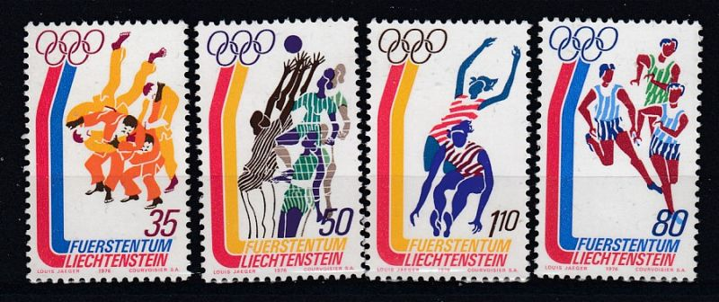 Liechtenstein Mi.-Nr.:  651/54  postfrisch