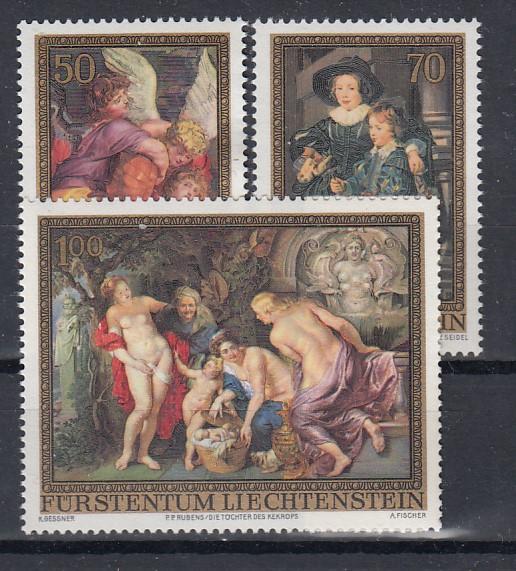 Liechtenstein Mi.-Nr.:  655/57  postfrisch