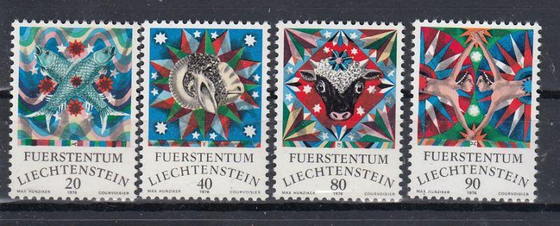 Liechtenstein Mi.-Nr.:  658/61  postfrisch