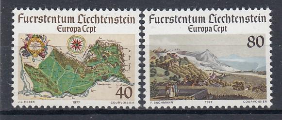 Liechtenstein Mi.-Nr.:  667/68  postfrisch