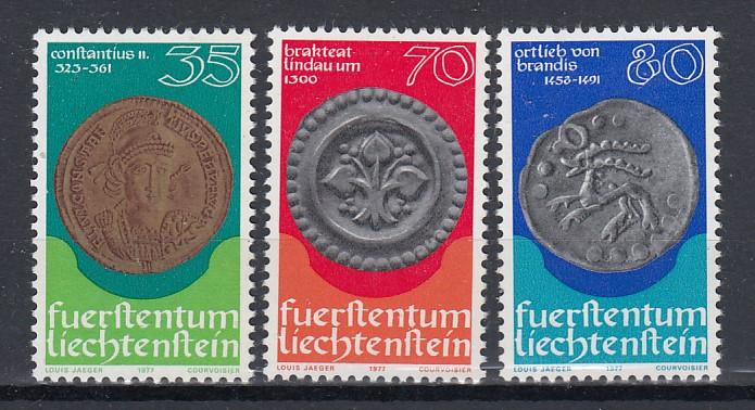 Liechtenstein Mi.-Nr.: 677/79 postfrisch